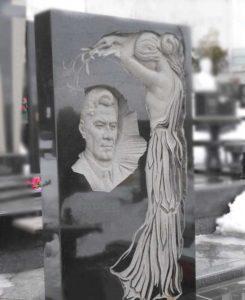 Барельеф на памятник в Донецке