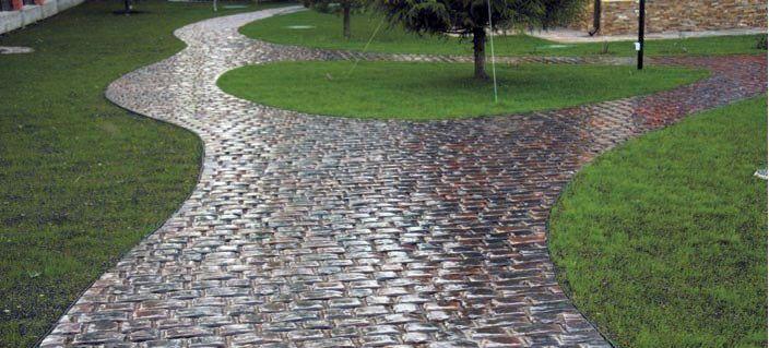 Тротуарная плитка Булыжник