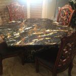 Столы из мрамора, гранита в Донецке